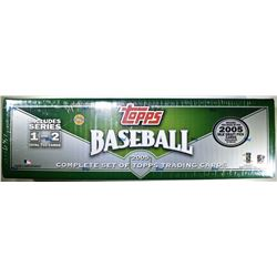2005 TOPPS BASEBALL COMPETE SET OF