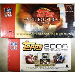 2003 & 2006 TOPS NFL COMPLETE SET
