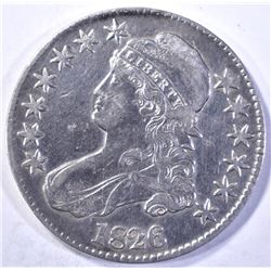 1826 CAPPED BUST HALF DOLLAR  XF   CLEANED