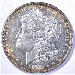 1878 7TF MORGAN DOLLAR, CH BU