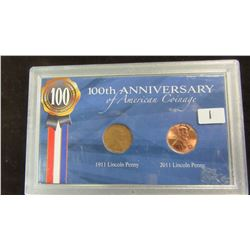 100TH ANNIVERSARY USA PENNY SET