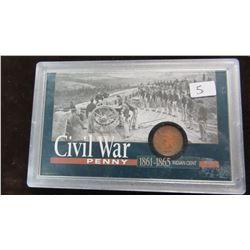 1861 - 1865 USA CIVAL WAR PENNY