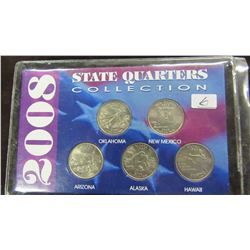 2008 USA STATE QUARTER COLLECTION