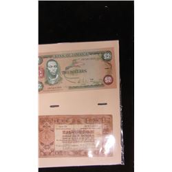 NETHERLAND AND JAMAICA SET OF COLLECTIBLE CURRENCY BANK NOTES