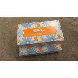 KLEENEX - 2 BOXES