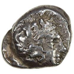 ATHENS: ca. 4th century BC, AR drachm (4.22g). VF
