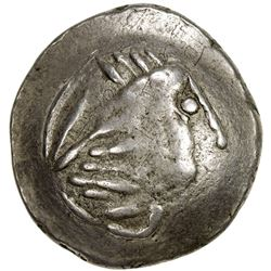 "CELTIC (EAST EUROPE): ca. 200-100 BC, AR ""tetradrachm"" (6.97g). VF-EF"