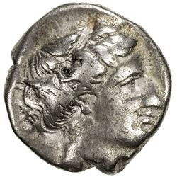 LUCANIA: Anonymous, ca. 340-330 BC, AR stater (7.52g), Metapontion. F
