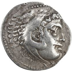 MACEDONIA: Alexander III, the Great, posthumous, ca. 2nd century BC, AR tetradrachm (16.7g). VF