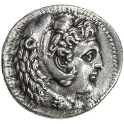 MACEDONIA: Alexander III, the Great, 336-323 BC, AR tetradrachm (16.58g), Babylon. VF-EF