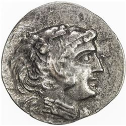 MACEDONIA: Alexander III, the Great, 336-323 BC, AR tetradrachm (15.87g), Mesembria. VF