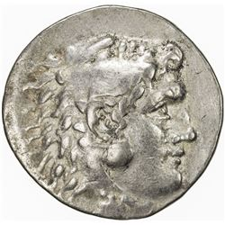 MACEDONIA: Alexander III, the Great, 336-323 BC, AR tetradrachm (16.33g), Mesembria. F-VF