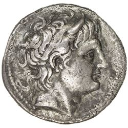 MACEDONIA: Demetrios I Poliorketes, 294-288 BC, AR tetradrachm (16.29g). VF