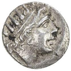 RHODES: Anonymous, ca. 88-84 BC, AR plinthophoric drachm (2.59g). VF