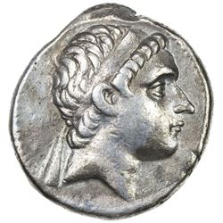SELEUKID KINGDOM: Antiochos III, the Great, 223-187 BC, AR tetradrachm (17.04g), ND. F-VF