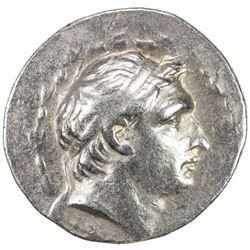 SELEUKID KINGDOM: Demetrios I Soter, 162-150 BC, AR tetradrachm (16.52g), Antioch ad Orontes, ND. VF