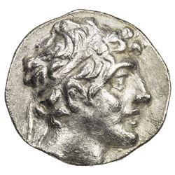 SELEUKID KINGDOM: Alexander I Balas, 150-145 BC, AR drachm (2.98g), ND. VF-EF