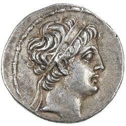 SELEUKID KINGDOM: Demetrios II Nikator, 1st reign, 145-140 BC, AR tetradrachm (16.38g). VF
