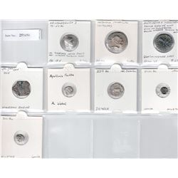 ANCIENT GREECE: LOT of 8 silver coins