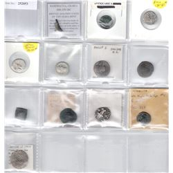 ANCIENT: LOT of 12 coins