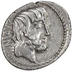 ROMAN REPUBLIC: Titurius L. f. Sabinus, 89 BC, AR denarius (3.84g). VF