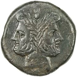 ROMAN REPUBLIC: Annoymous, ca. 157-155 BC, AE as (26.31g), Rome. EF