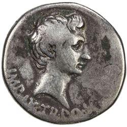 ROMAN EMPIRE: Augustus, 27 BC-14 AD, AR cistophorus (11.09g), Pergamum, ca. 19-18 BC. VG