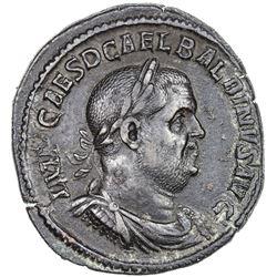 ROMAN EMPIRE: Balbinus, 238 AD, AE sestertius (20.08g), Rome (238). VF-EF