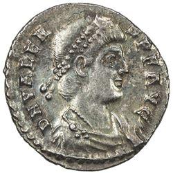 ROMAN EMPIRE: Valens, 364-378 AD, AR siliqua (1.88g). EF-AU