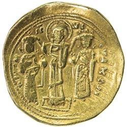BYZANTINE EMPIRE: Romanus IV Diogenes, 1068-1071, AV histamenon nomisma (3.07g), Constantinople. F-V