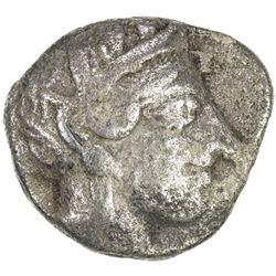 ARABIA: Arabian imitation, ca. 440-400 BC, AR tetradrachm (16.75g). VF