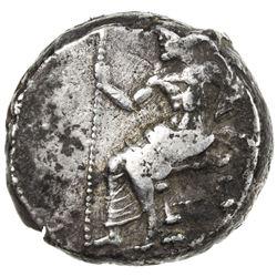 BABYLONIA: Anonymous, ca. 328-311 BC, AR tetradrachm (16.93g). VF