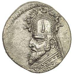 PARTHIAN KINGDOM: Gotarzes I, 95-87 BC, AR drachm (4.11g). EF