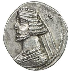 PARTHIAN KINGDOM: Mithradates III, c. 57-54 BC, AR drachm (4.06g). VF