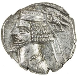 PARTHIAN KINGDOM: Phraates IV, c. 38-2 BC, AR drachm (4.10g), Ekbatana mint. NGC AU