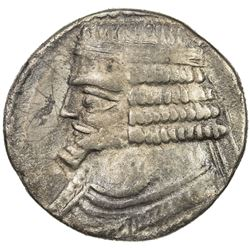 PARTHIAN KINGDOM: Phraates IV, c. 38-2 BC, AR tetradrachm (14.61g), Seleukeia, SE288 (=22/21 BC). VF