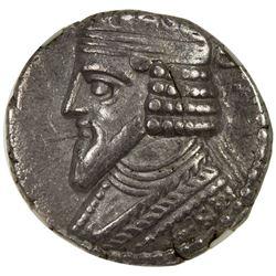 PARTHIAN KINGDOM: Gotarzes II, 44-51 AD, AR tetradrachm, Seleukeia. VF