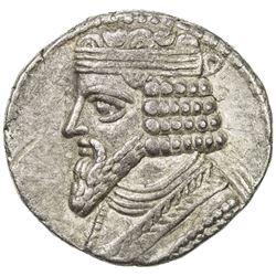 PARTHIAN KINGDOM: Gotarzes II, 44-51 AD, AR tetradrachm (14.24g), Seleukeia, SE356 (46/47 AD). VF-EF