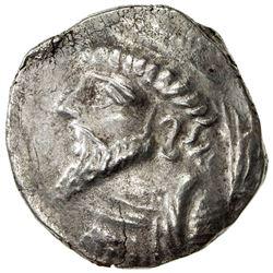 ELYMAIS: Kamnaskires V, ca. 62-54 BC, AR tetradrachm (15.34g). VF