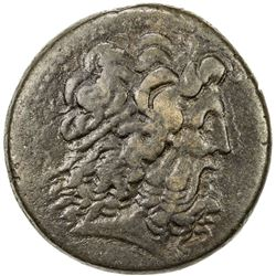 PTOLEMAIS: Ptolemy III, 246-221 BC, AE 35 (42.97g). VF