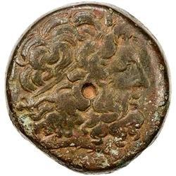 PTOLEMAIS: Ptolemy III, 246-221 BC, AE 37 (42.97g). VG-F
