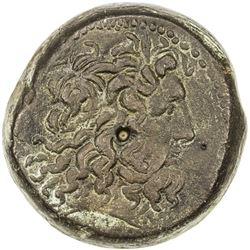 PTOLEMAIS: Ptolemy IV, 204-180 BC, AE 34 (32.43g). VF