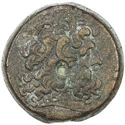 PTOLEMAIS: Ptolemy V, 204-180 BC, AE 34 (36.19g). VF