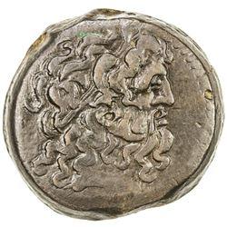 PTOLEMAIS: Ptolemy VI, 180-145 BC, AE 32 (27.46g). VF