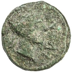 MAURETANIA: Juba II, 25 BC - 23 AD, AE 19mm (3.60g). F