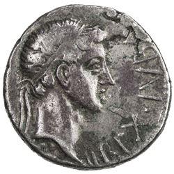 MAURETANIA: Juba II, 25 BC - 23 AD, AR denarius (3.10g). VF