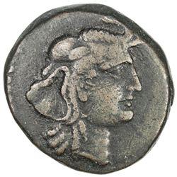 NUMIDIA: Juba I, 60-46 BC, AE 22 (8.06g). VF