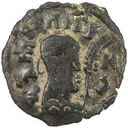 AXUM: Wazena, early 6th century, AE unit (1.24g). EF