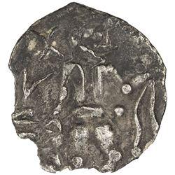KESH: ca. 1st century BC & AD, AR obol (0.41g). VF-EF