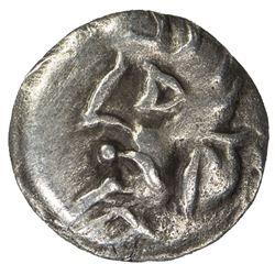 SAMARKAND: Anonymous, ca. 2nd-4th century, AR obol (0.39g), NM. VF-EF